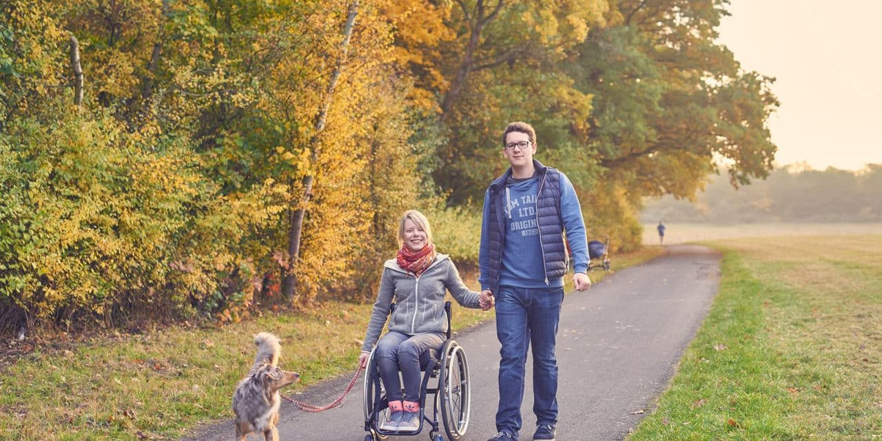 Gießener Allgemeine Zeitung: Auf Augenhöhe im Rollstuhl
