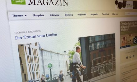 Das IGP-Magazin über ReWalk & Th10.