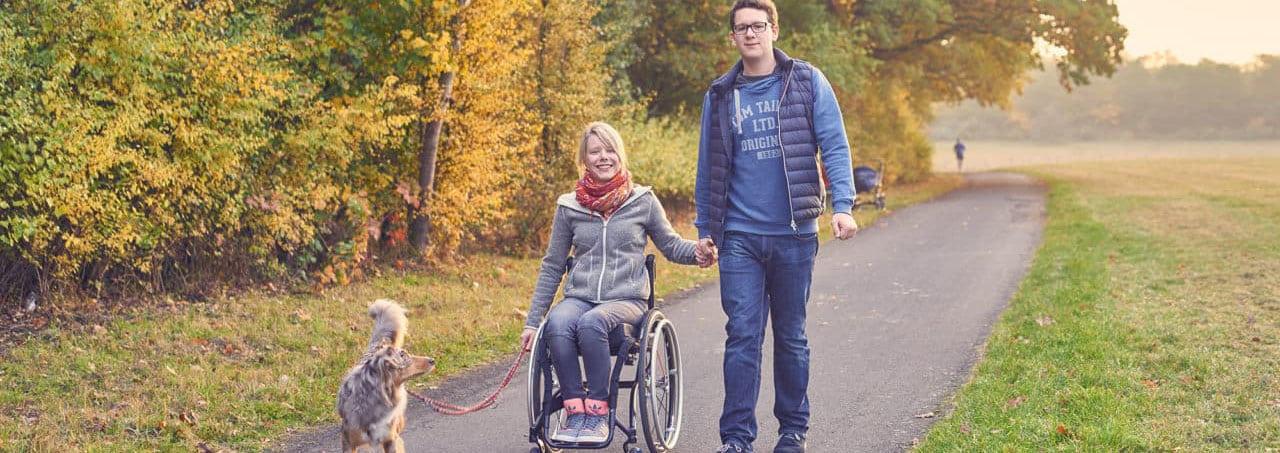 Anouk Schmitt: Auf Augenhöhe im Rollstuhl / 04.11.2016