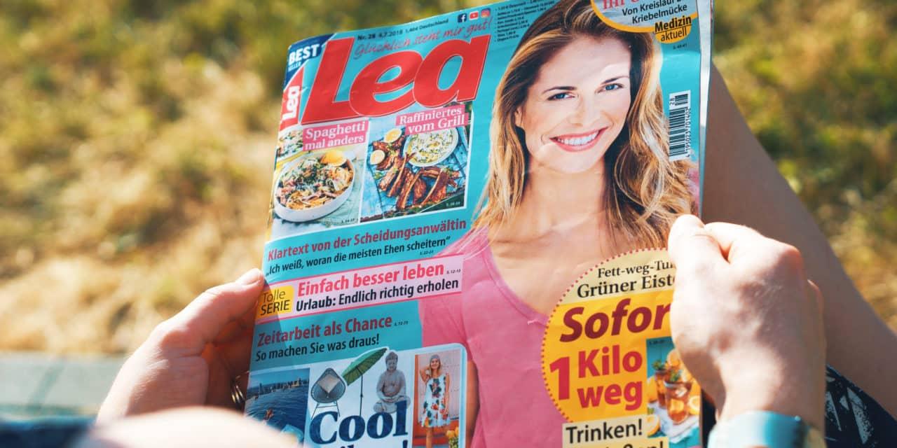 """Th10. in der aktuellen """"Lea"""""""
